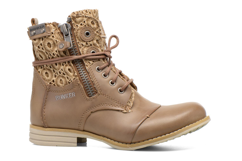 Bottines et boots Bunker Sara zip Marron vue derrière