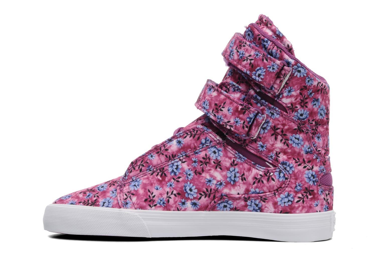 Sneaker Supra Society w rosa ansicht von vorne