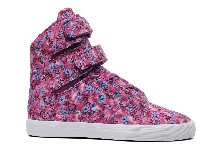Sneaker Supra Society w rosa ansicht von hinten