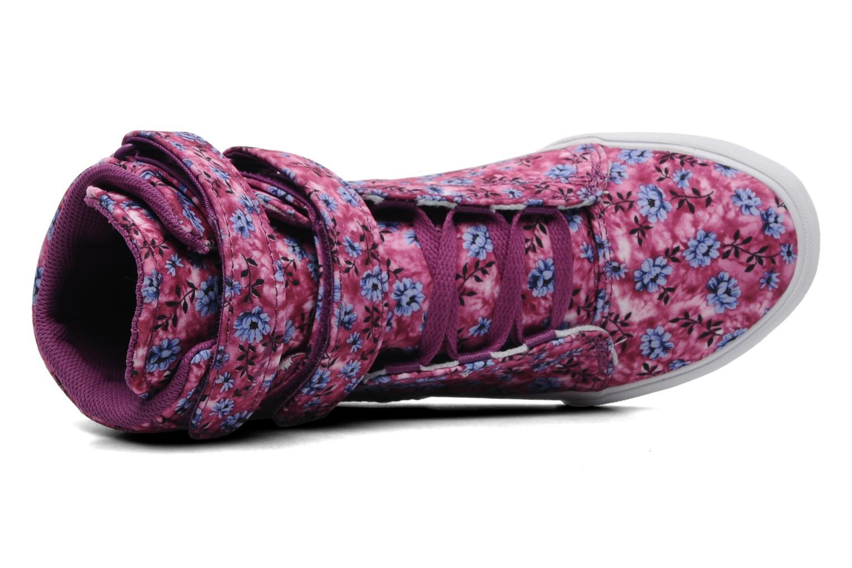 Sneaker Supra Society w rosa ansicht von links