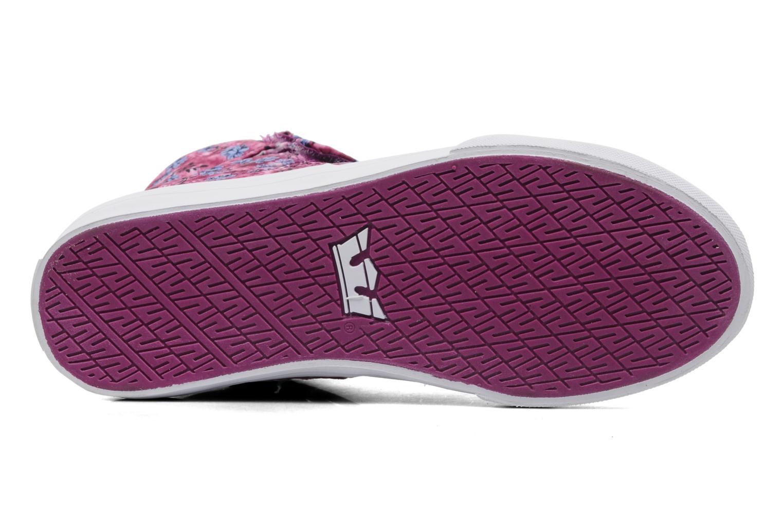 Sneaker Supra Society w rosa ansicht von oben