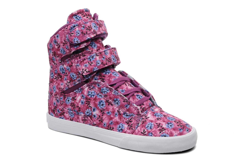 Sneaker Supra Society w rosa detaillierte ansicht/modell
