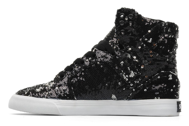 Sneaker Supra Skytop w schwarz ansicht von vorne