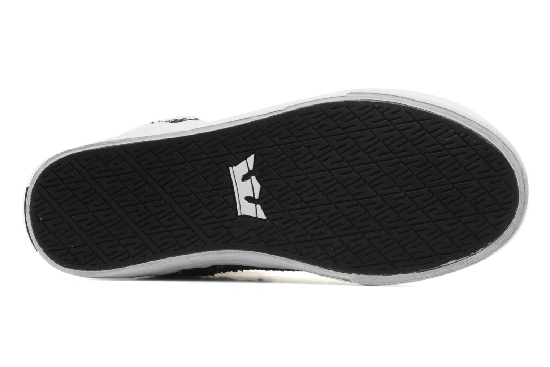Sneaker Supra Skytop w schwarz ansicht von oben