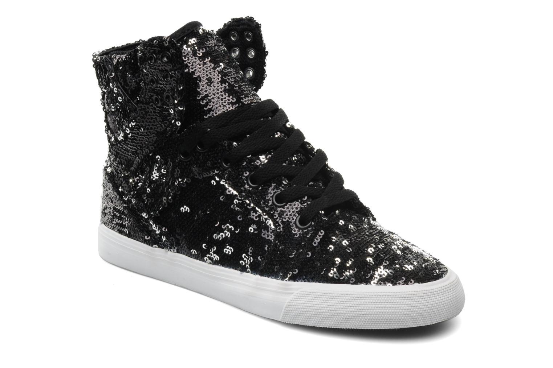 Sneaker Supra Skytop w schwarz detaillierte ansicht/modell