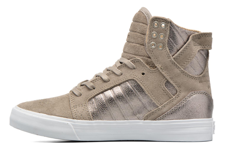 Sneaker Supra Skytop w braun ansicht von vorne
