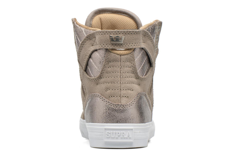 Sneakers Supra Skytop w Bruin rechts