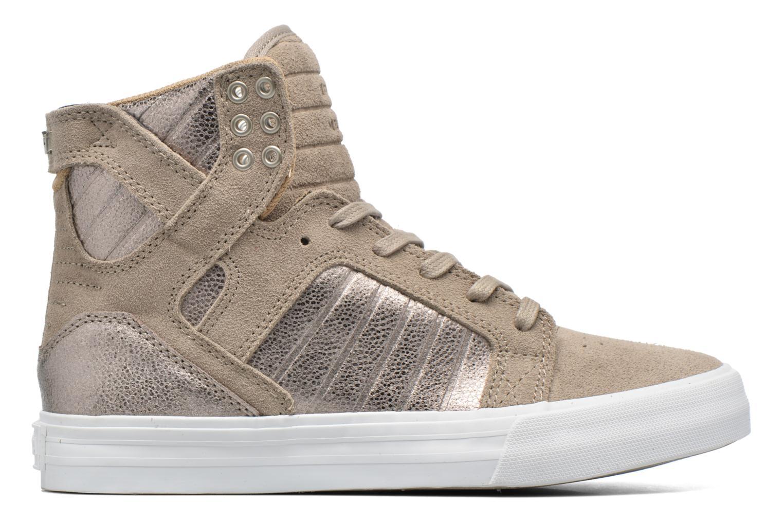 Sneakers Supra Skytop w Bruin achterkant