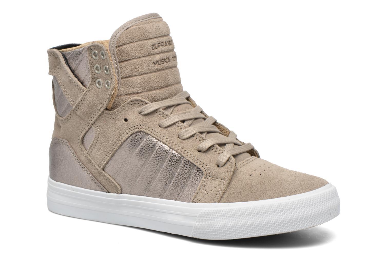 Sneaker Supra Skytop w braun detaillierte ansicht/modell
