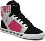 Black/Silver/Pink