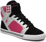 Black/Silver/Pink