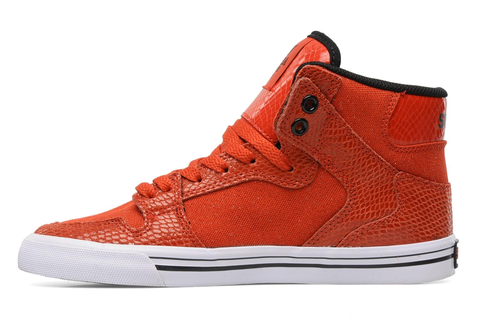 Baskets Supra Vaider w Rouge vue face