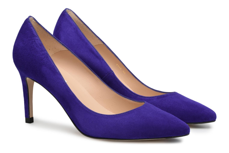 High heels L.K. Bennett Floret Blue 3/4 view