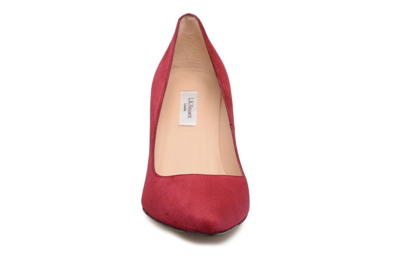 Escarpins L.K. Bennett Floret Bordeaux vue portées chaussures