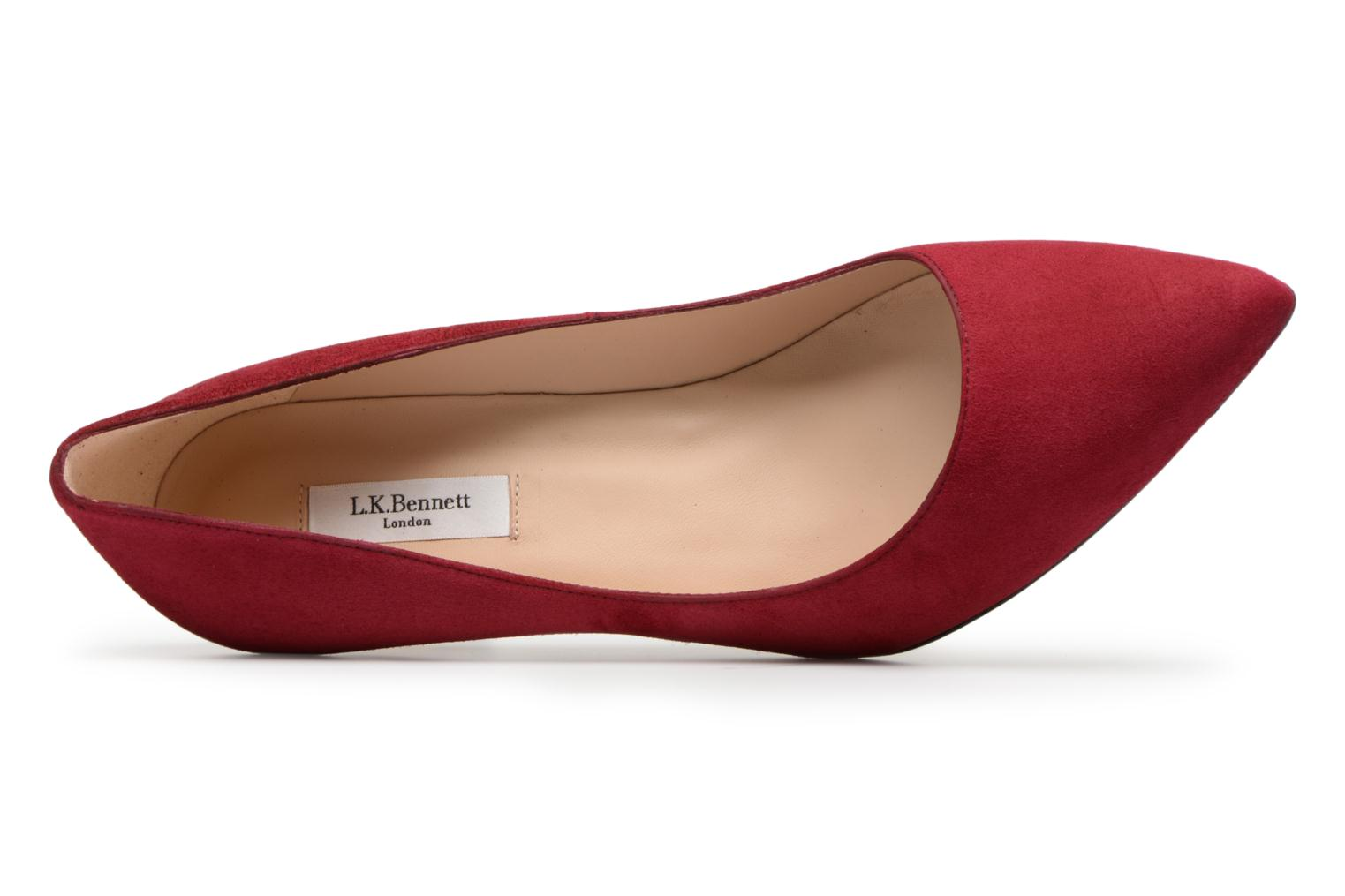 Floret Red-Poppy Suede