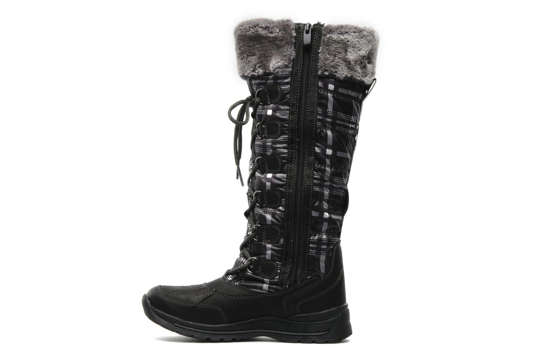 Laarzen I Love Shoes Ressaut Zwart voorkant