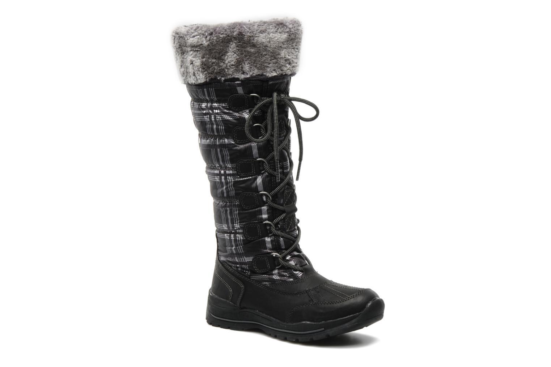 Bottes I Love Shoes Ressaut Noir vue détail/paire