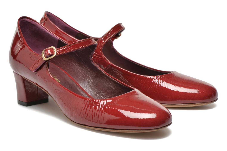 Zapatos de tacón Avril Gau Rosy Rojo vista 3/4