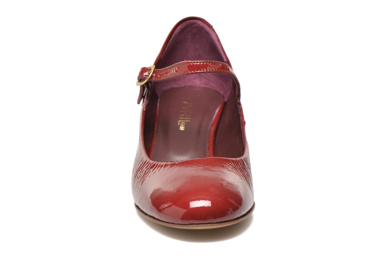 Zapatos de tacón Avril Gau Rosy Rojo vista del modelo