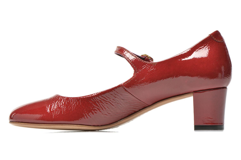 Zapatos de tacón Avril Gau Rosy Rojo vista de frente