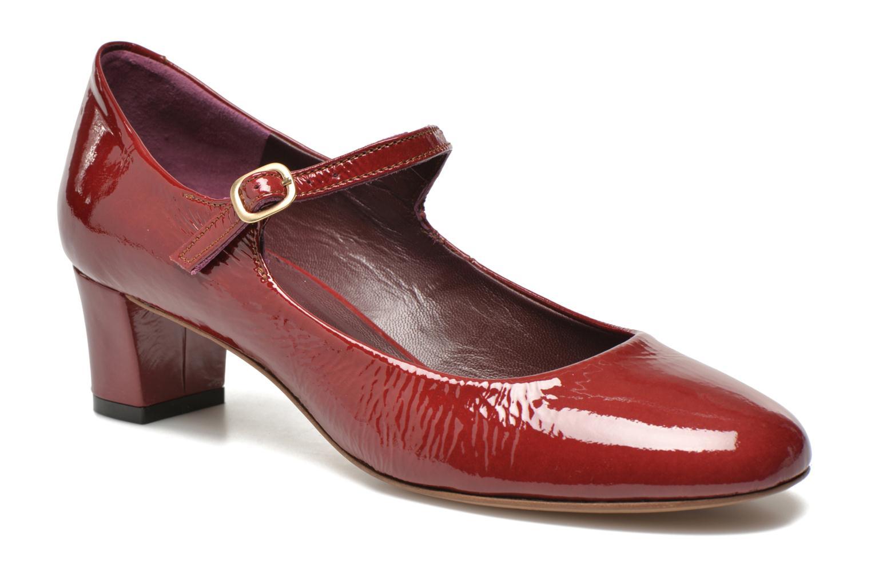 Zapatos de tacón Avril Gau Rosy Rojo vista de detalle / par
