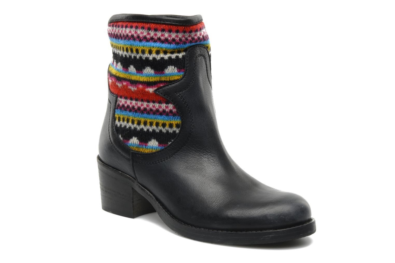 via roma 15 vanna multicolore bottines et boots chez. Black Bedroom Furniture Sets. Home Design Ideas
