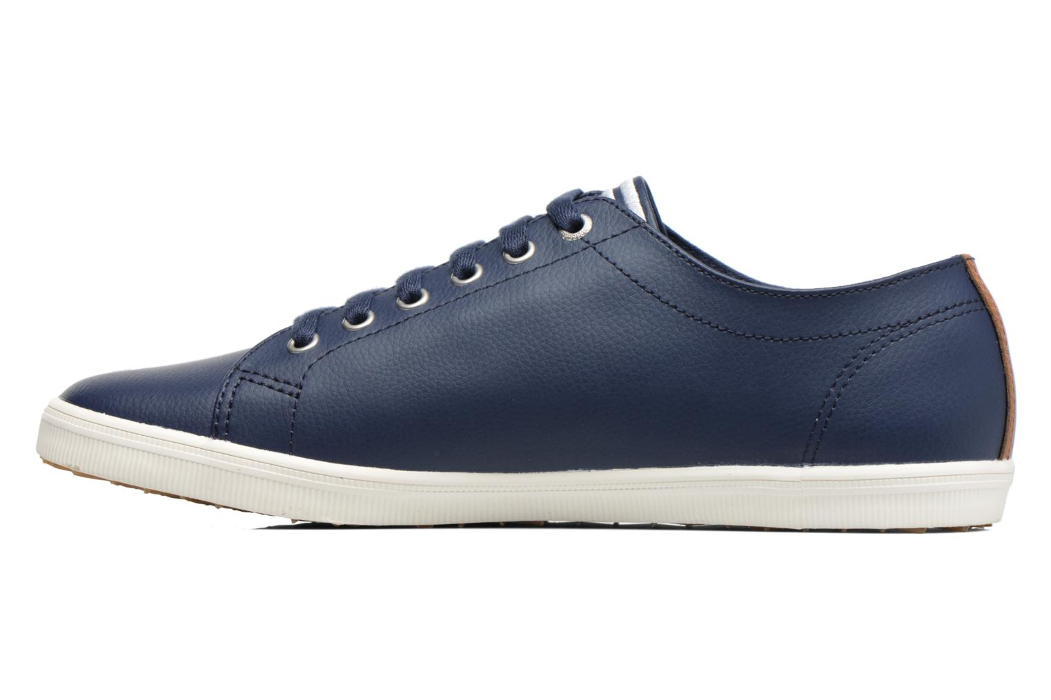Sneakers Fred Perry Kingston Leather Bruin voorkant