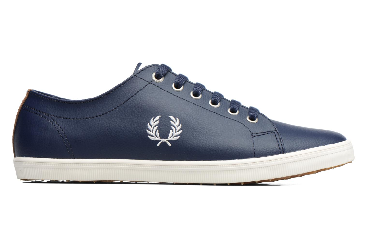 Sneakers Fred Perry Kingston Leather Bruin achterkant