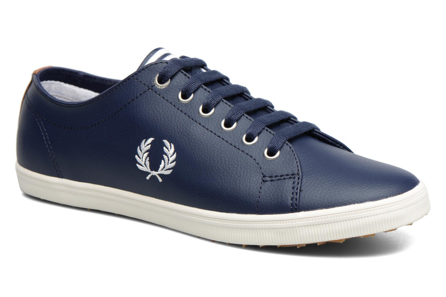 Sneaker Fred Perry Kingston Leather braun detaillierte ansicht/modell
