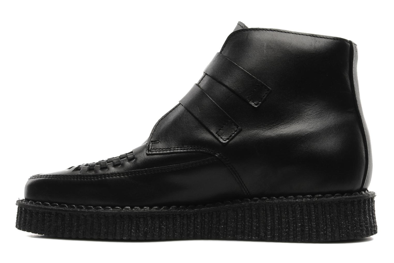 Bottines et boots Underground BOWIE Noir vue face