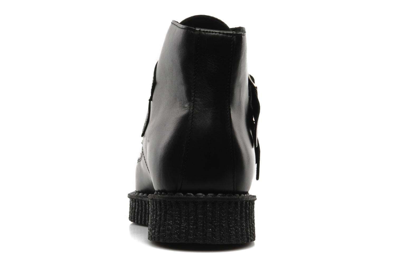 Bottines et boots Underground BOWIE Noir vue droite