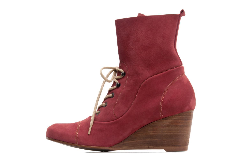 Stiefeletten & Boots Stephane Gontard Polo weinrot ansicht von vorne