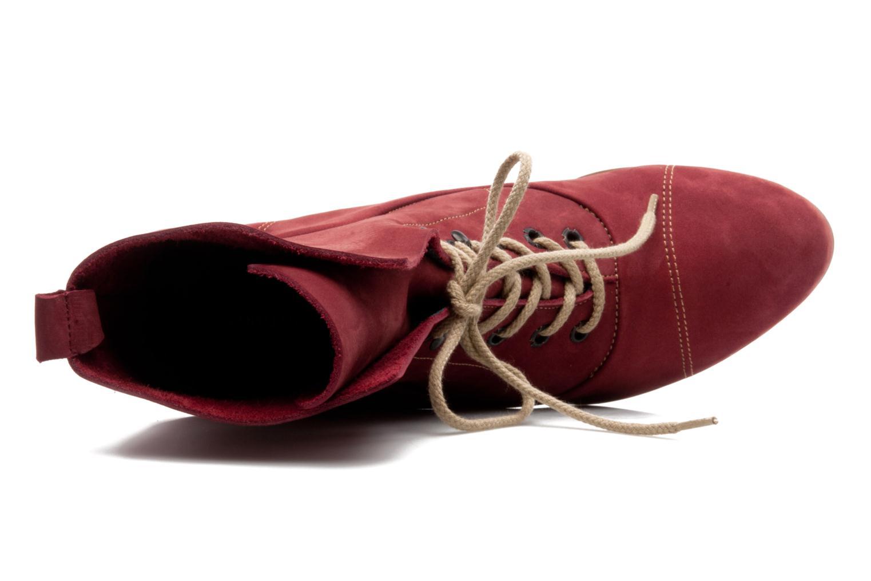 Stiefeletten & Boots Stephane Gontard Polo weinrot ansicht von links