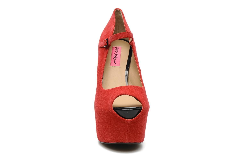 High heels Betsey Johnson BELLL Red model view