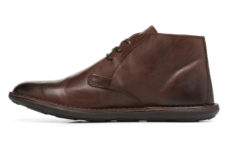 Chaussures à lacets Kickers SWIBO Marron vue face