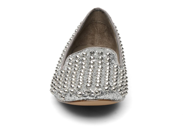 Mocassins Steve Madden STUDDY Argent vue portées chaussures