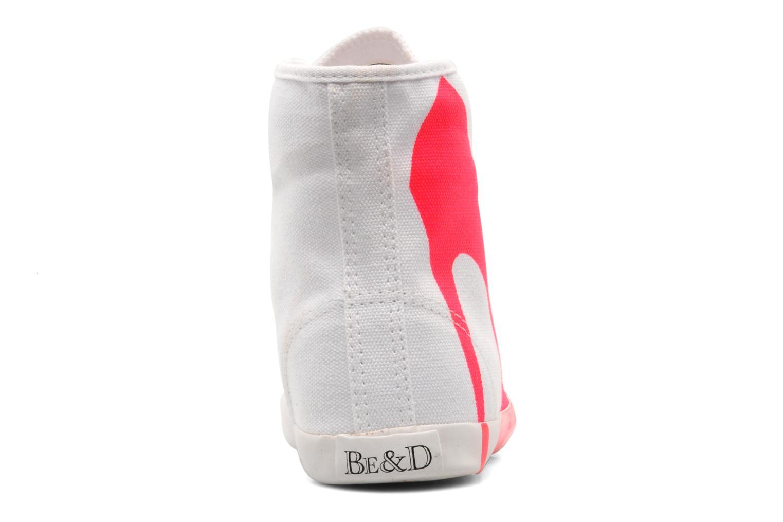 Sneaker Be&D Big City rosa ansicht von rechts