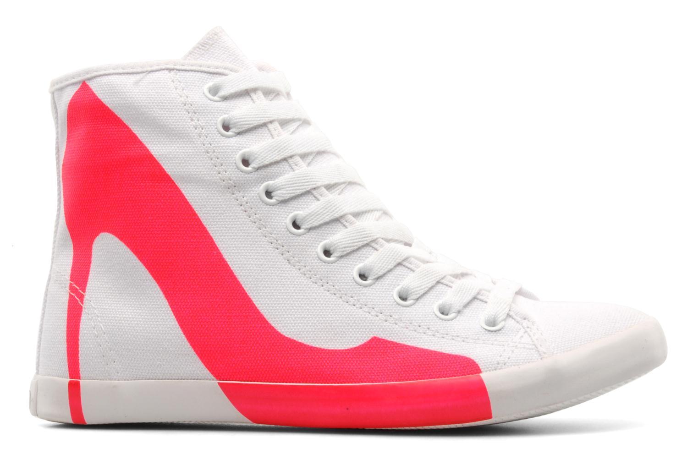 Sneakers Be&D Big City Roze achterkant