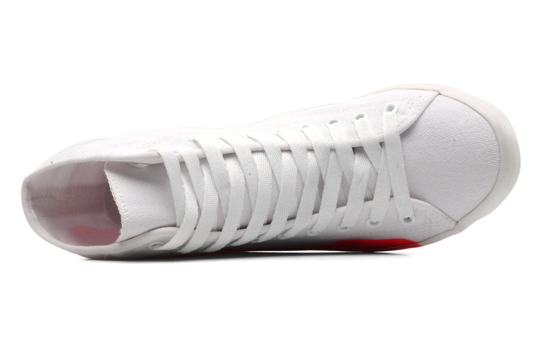 Sneaker Be&D Big City rosa ansicht von links