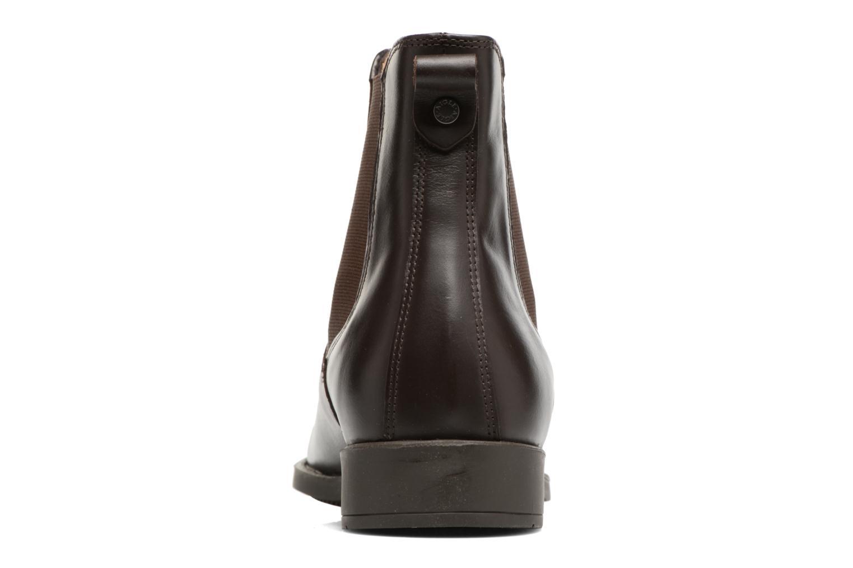 Chaussures de sport Aigle Orzac W Marron vue droite