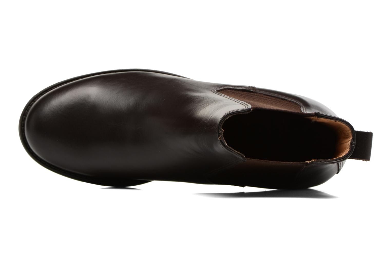 Chaussures de sport Aigle Orzac W Marron vue gauche