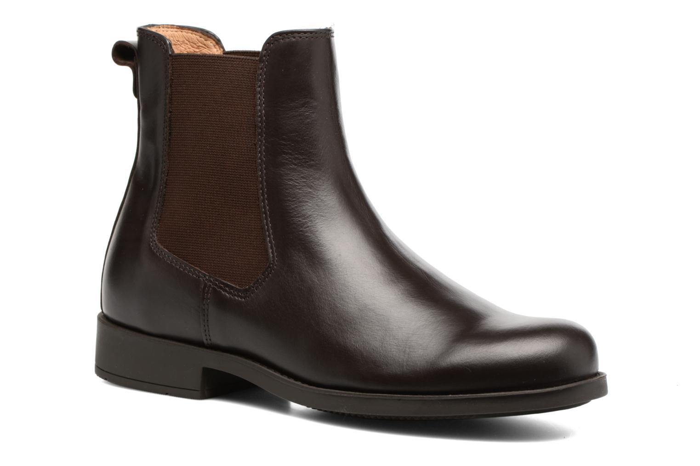 Chaussures de sport Aigle Orzac W Marron vue détail/paire