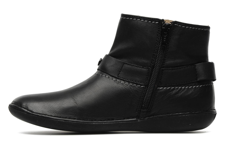 Boots en enkellaarsjes Kickers EXPLODED Zwart voorkant