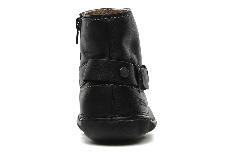 Boots en enkellaarsjes Kickers EXPLODED Zwart rechts