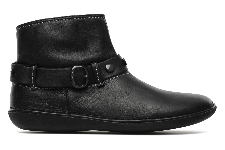 Boots en enkellaarsjes Kickers EXPLODED Zwart achterkant