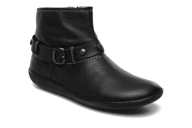 Boots en enkellaarsjes Kickers EXPLODED Zwart detail