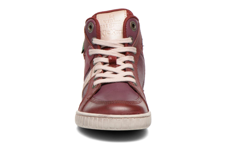 Sneakers Kickers Wincut Bordeaux model
