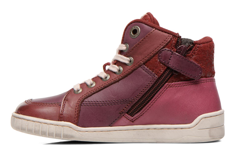 Sneakers Kickers Wincut Bordeaux voorkant