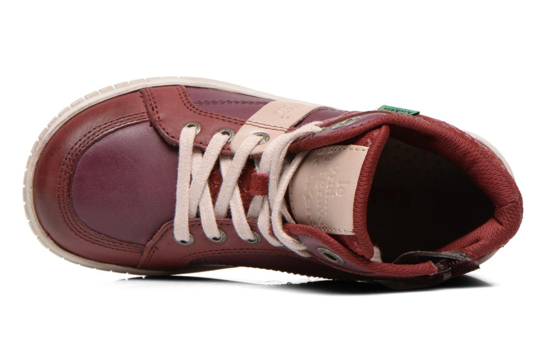Sneakers Kickers Wincut Bordeaux links