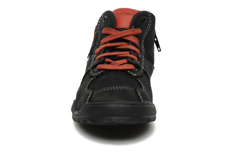 Baskets Kickers FORSHIGH Noir vue portées chaussures
